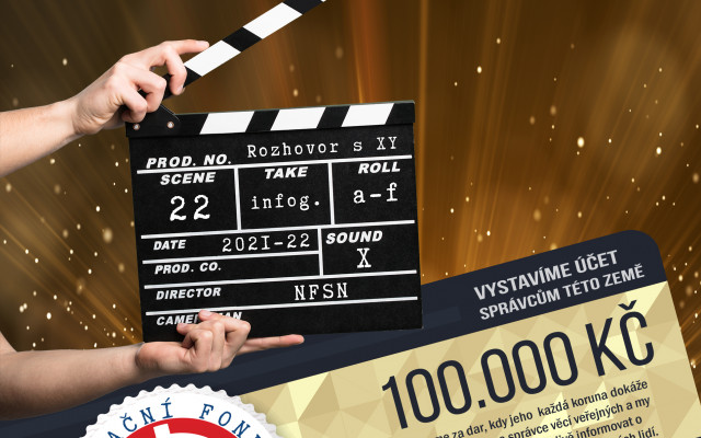 Hlavní sponzor + natočení videa + vstupenka