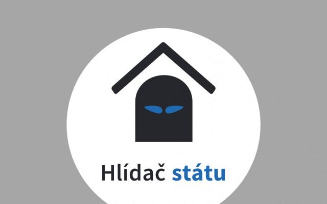 Samolepka Hlídače státu s osobním věnováním od Michala Bláhy