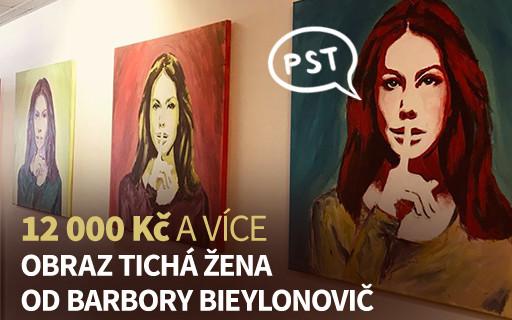 Obraz Tichá žena od Barbory Bieylonovič