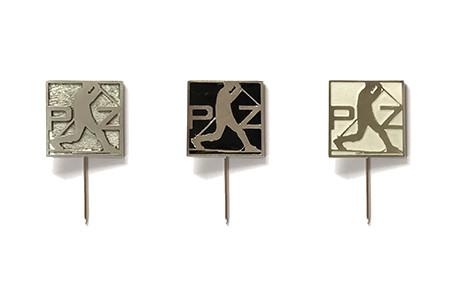 Ručně dělaný kovový odznak (osobní odběr)