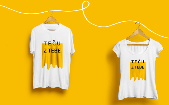 Limitovaná kolekce trička Teču z tebe
