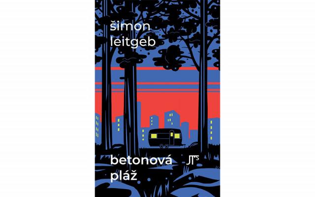 Autorská kniha básní Šimona Leitgeba Betonová pláž