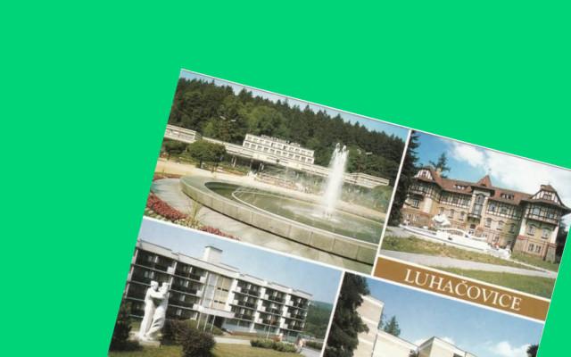 Srdečný pozdrav z Luhačovic aneb osobní ručně psaná pohlednice z festivalu od pořadatelů