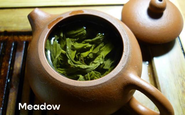 CBD Čaj (zelený s bylinkami)