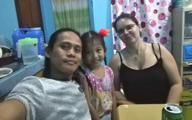 osobní video POZDRAV z Filipín
