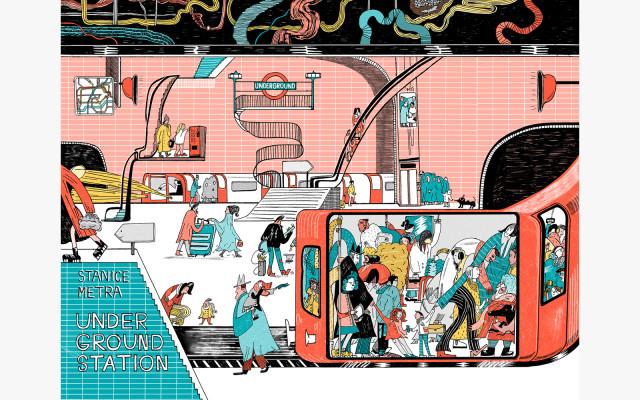 Anastasia Stročková - Londýnské metro