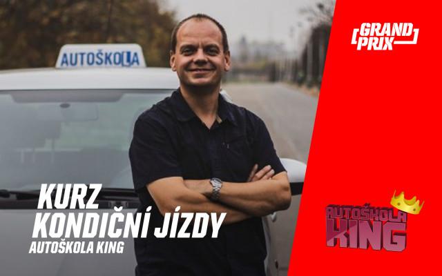 Kondiční jízda v autoškole King - Praha