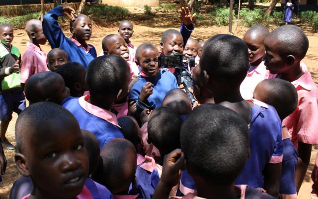 Osobní videopozdrav od dětí z Keni