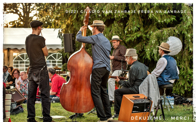 Koncert kapely Dizzy Gilagio na vašem večírku, tančírně....