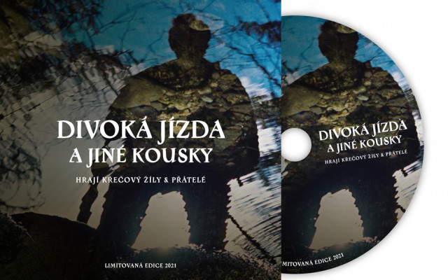 CD Divoká jízda a jiné kousky od kapely Křečový žíly
