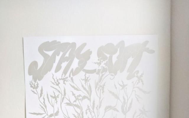 Sítotiskový ilustrovaný plakát od Báry Růžičkové, autorky vizuálu