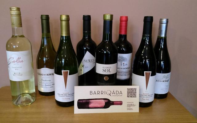 Ochutnávka vína v Barriqádě