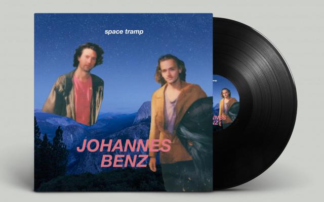 Vstupenka na křest desky Space Tramp + gramofonová deska s novou nahrávkou Johannes Benz v limitované edici