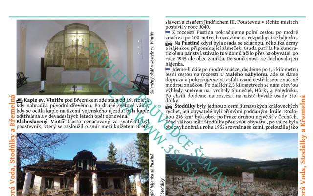Průvodce Šumavou včetně poštovného