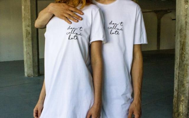 Propocený triko Don't Call Me Kotě.
