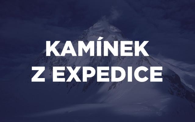 Kamínek z expedice