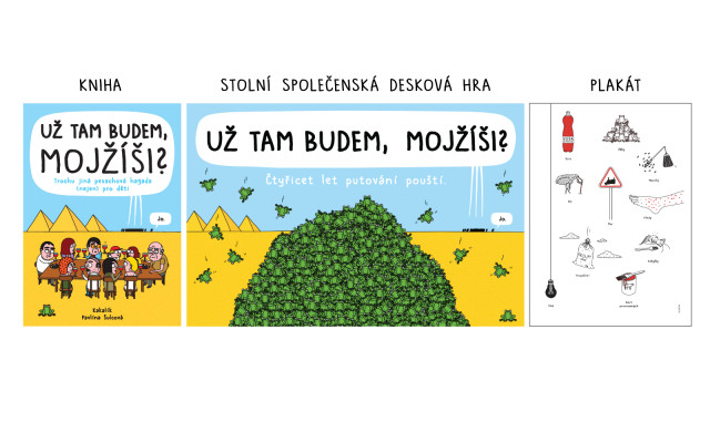 1+1: Kniha + hra + plakát A3 jako bonus