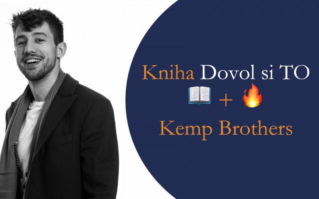 Získáte Knihu 📖  + 🔥 Kemp Brothers