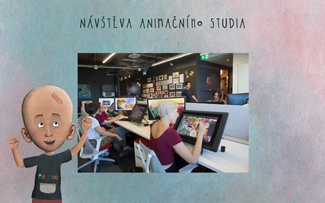 Návštěva animačního studia