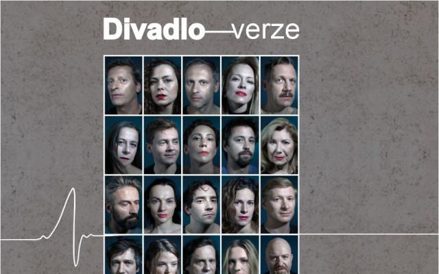 Lístek na představení Divadla Verze v divadle v Celetné  v Praze