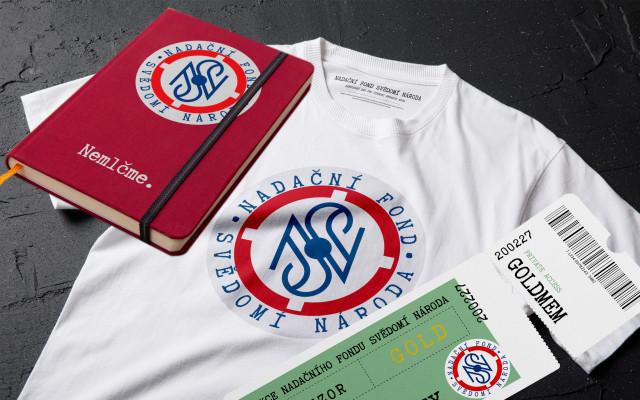 Vstupenka na slavnostní večer NFSN + triko + zápisník