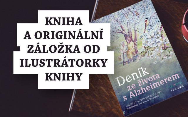 Kniha a originální záložka od ilustrátorky knihy
